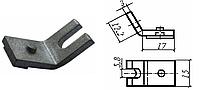 Контакт силовой к контактору КПД-113(КПП-113) неподвижный, медь