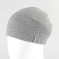 Мужская шапка св.серый