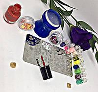 Маникюрный набор для дизайна ногтей Стемпинг Light+, фото 1