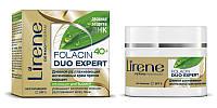 Интенсивный крем против морщин для лица дневной, 50мл, Folacin 40+, Lirene