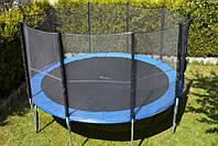 Батут с сеткой для детей FunFit 490 см
