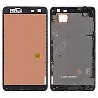 Рамка крепления дисплея для Nokia Lumia 625, черная