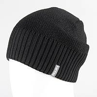 Мужская шапка черный