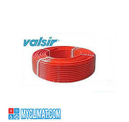 Трубы из сшитого полиэтилена Pexal красная Evoh c кислородным барьером 16*2.0 (PN10)