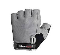 Велоперчатки женские PowerPlay 5295 S Grey