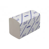 Полуторные полотенца для рук в пачках 6777 Клинекс Ультра софт (Kleenex Ultra Soft) 124шт