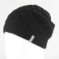 Вязанная шапка черный