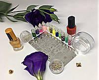 Маникюрный набор для дизайна ногтей Стемпинг XXL+