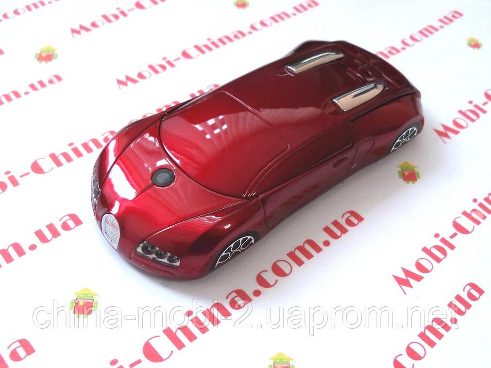Машина-телефон Bugatti Veyron C618 dual+ TV new