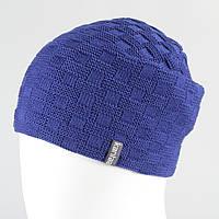Вязанная шапка унисекс KANTAA электрик