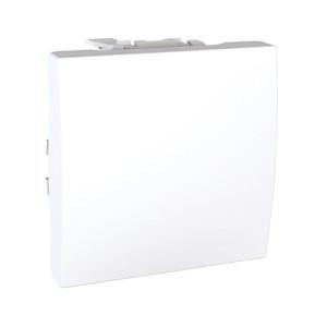 Вимикач 1-кл., білий. Unica MGU3.201.18