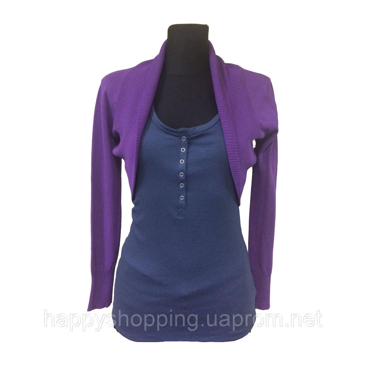 Фиолетовая кофта-накидка Jones