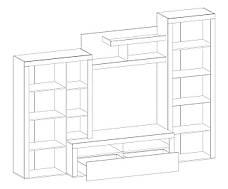 Стенка Мебель-Сервис «Неон-1», фото 3