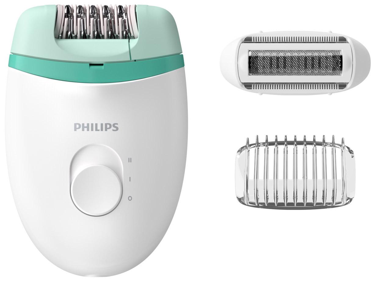 Эпилятор Philips BRE245 / 00 Белый / Зеленый