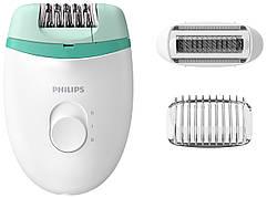 Епілятор Philips BRE245/00 Білий/ Зелений