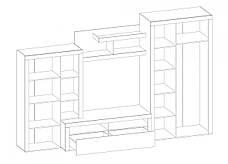 Стенка Мебель-Сервис «Неон-2», фото 3