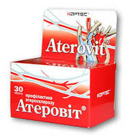 Диетическая добавка «Атеровит», 30 таблеток