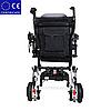 Легкая складная алюминиевая электроколяска для инвалидов DLY-6033. Инвалидная коляска., фото 2
