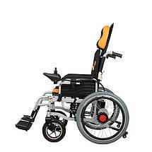 Складная инвалидная электроколяска MIRID D6035A (режимы: электро, активный), фото 3
