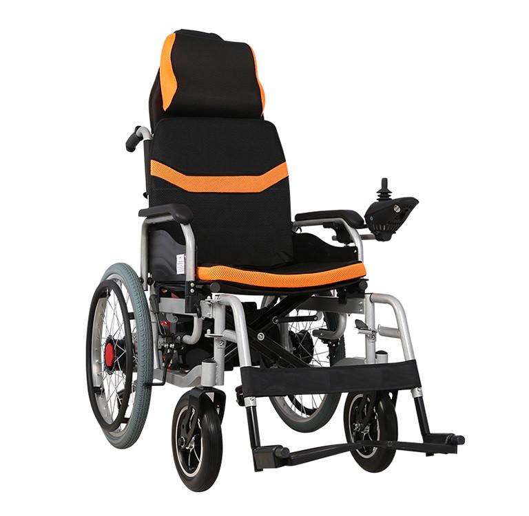 Складная инвалидная электроколяска MIRID D6035A (режимы: электро, активный)