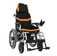 Складная инвалидная электроколяска D-6035A. Инвалидная коляска. Кресло коляска.