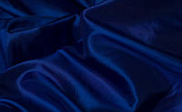 Ткань атлас Электрик, глубокий синий
