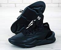 """Кроссовки мужские Adidas Yohji Yamamoto Y-3 """"Черные"""" р. 41-45, фото 1"""