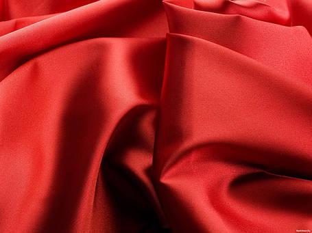 Атлас Красный, Ткань  №1, фото 2