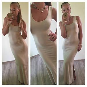 Платье Майка длинны Макси , фото 2