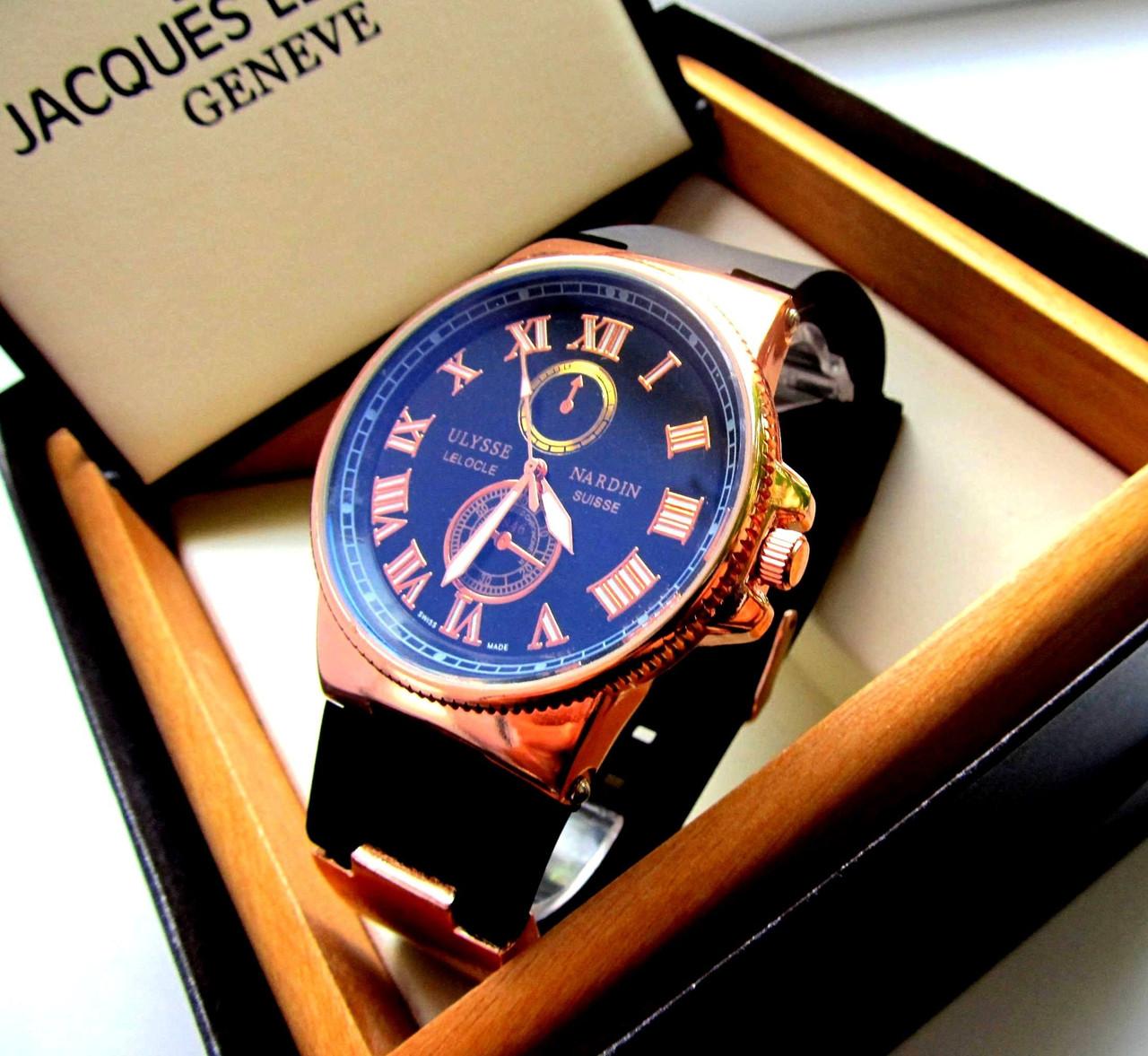 Мужские наручные часы фирмы ulysse nardin часы ролекс золотые купить цена
