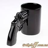 "Чашка ""Револьвер"", кераміка, фото 2"