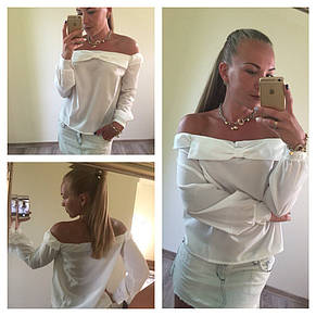 Нежная блуза из крепшифона, фото 2