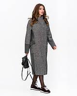 Женское демисезонное пальто с запахом, фото 1