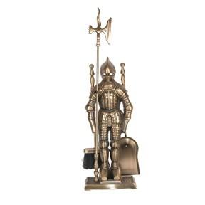 Каминный набор  Рицарь золотой
