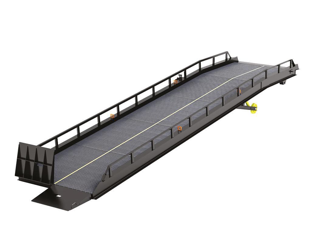 DoorHan RMTS — мобильная рампа с опорой на кузов автомобиля