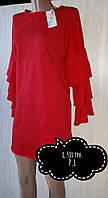 Сукня італійська з оригінальним кроєм рукава,розмір L, Mivite