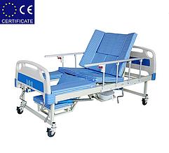 Медицинская кровать с туалетом E30. Функциональная кровать. Кровать для реабилитации. Для инвалида.