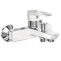 Смеситель для ванны IMPRESE Breclav 10245W белый-хром