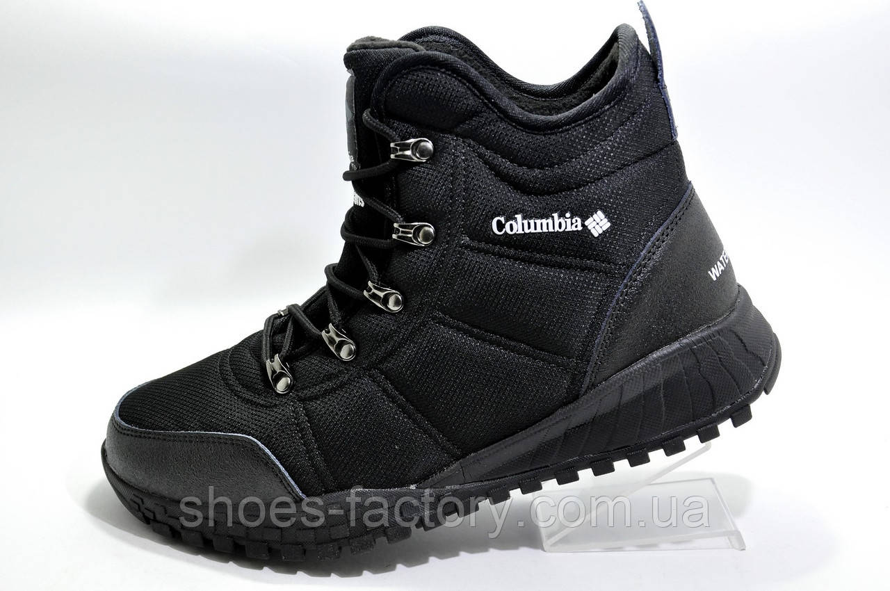 Термо ботинки в стиле Коламбия Fairbanks Omni-Heat, Black