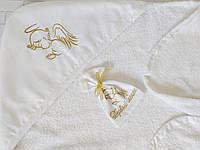 Крыжма для крещения с мешочком для первого локона, фото 1