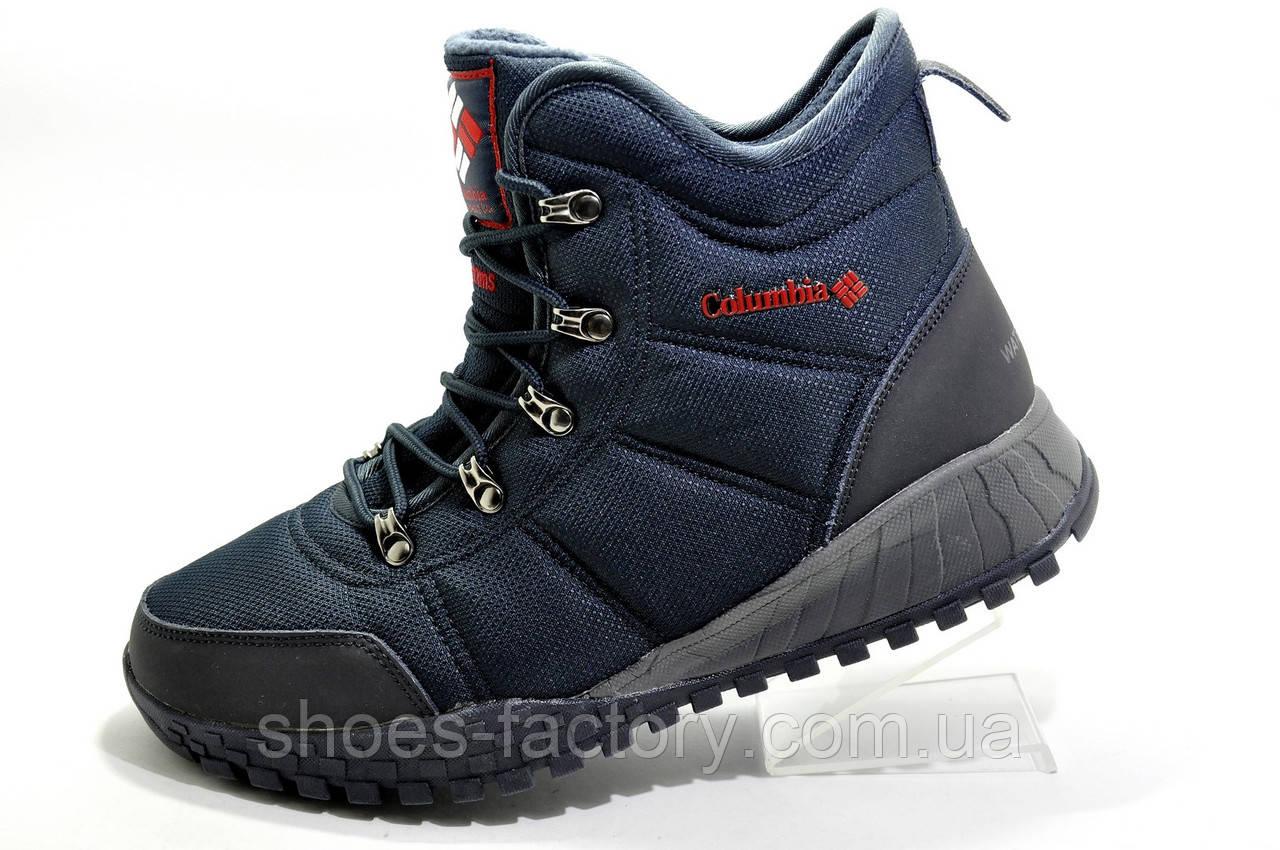 Термо ботинки в стиле Коламбия Fairbanks Omni-Heat, Dark Blue