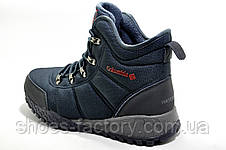 Термо ботинки в стиле Коламбия Fairbanks Omni-Heat, Dark Blue, фото 3