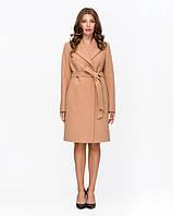 Классическое женское пальто с поясом, фото 1