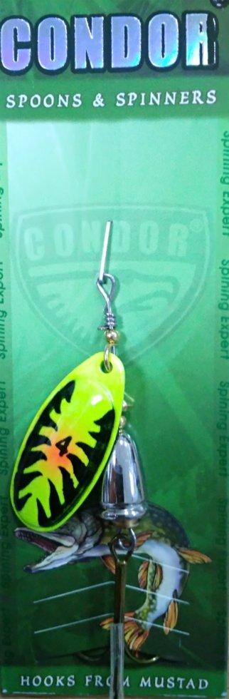 Блесна-вертушка Condor 5171-4 Color 199 10г