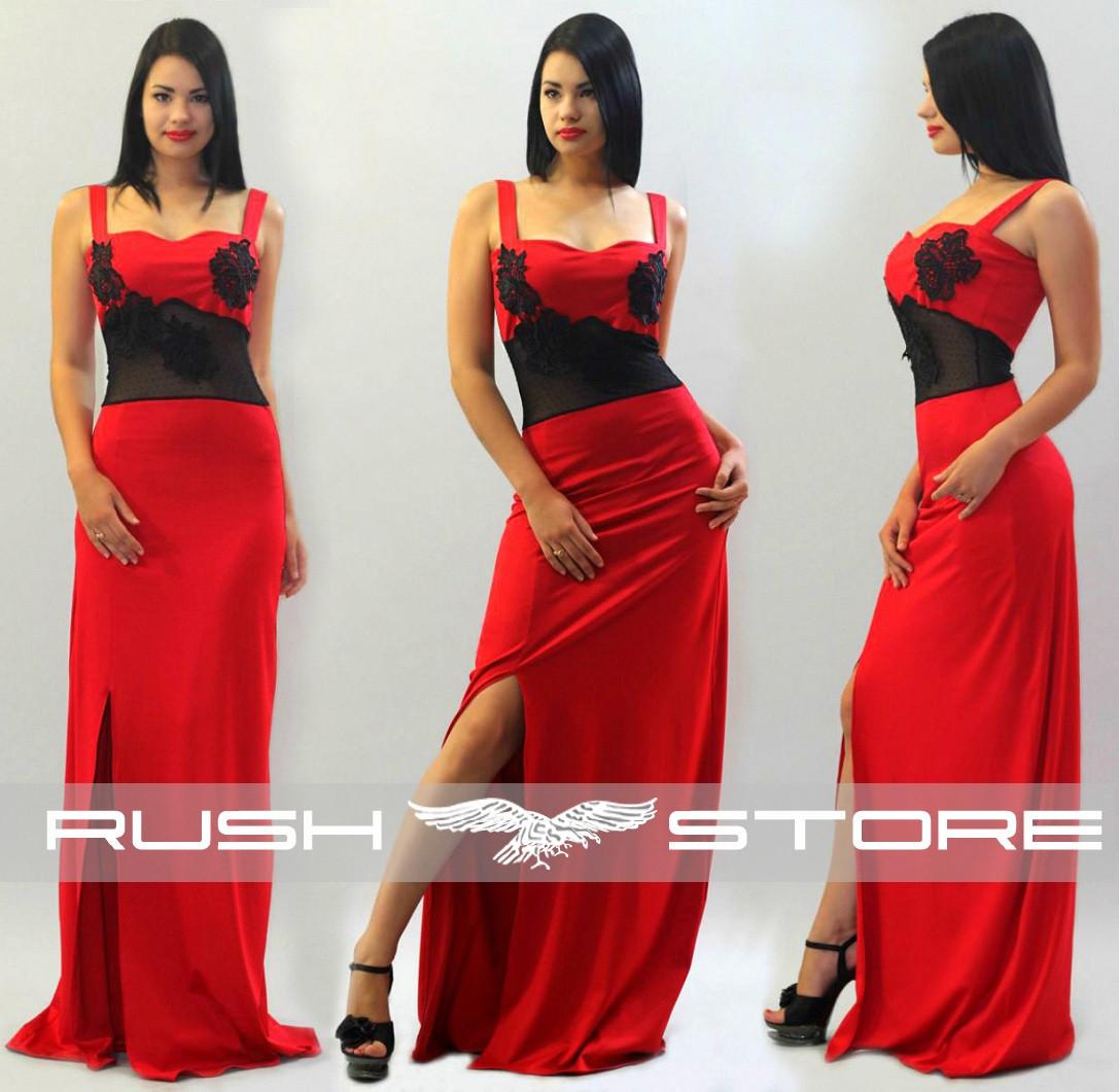 57c2063cb49 Купить Вечернее платье с гипюром и кружевом в Николаеве от компании ...