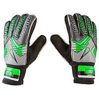 Вратарские перчатки Зелено-черный, 6