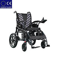 Складная электроколяска D-6023. Инвалидная коляска. Кресло для инвалида. Кресло коляска.