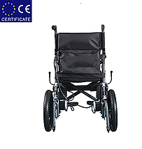 Складная электроколяска D-6024 (Li-ion). Инвалидная коляска. Кресло для инвалида. Кресло коляска., фото 2