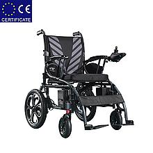 Складная электроколяска D-6024 (Li-ion). Инвалидная коляска. Кресло для инвалида. Кресло коляска.
