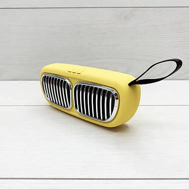 Портативна колонка Wireless Speaker NBS-11 (жовта), фото 2